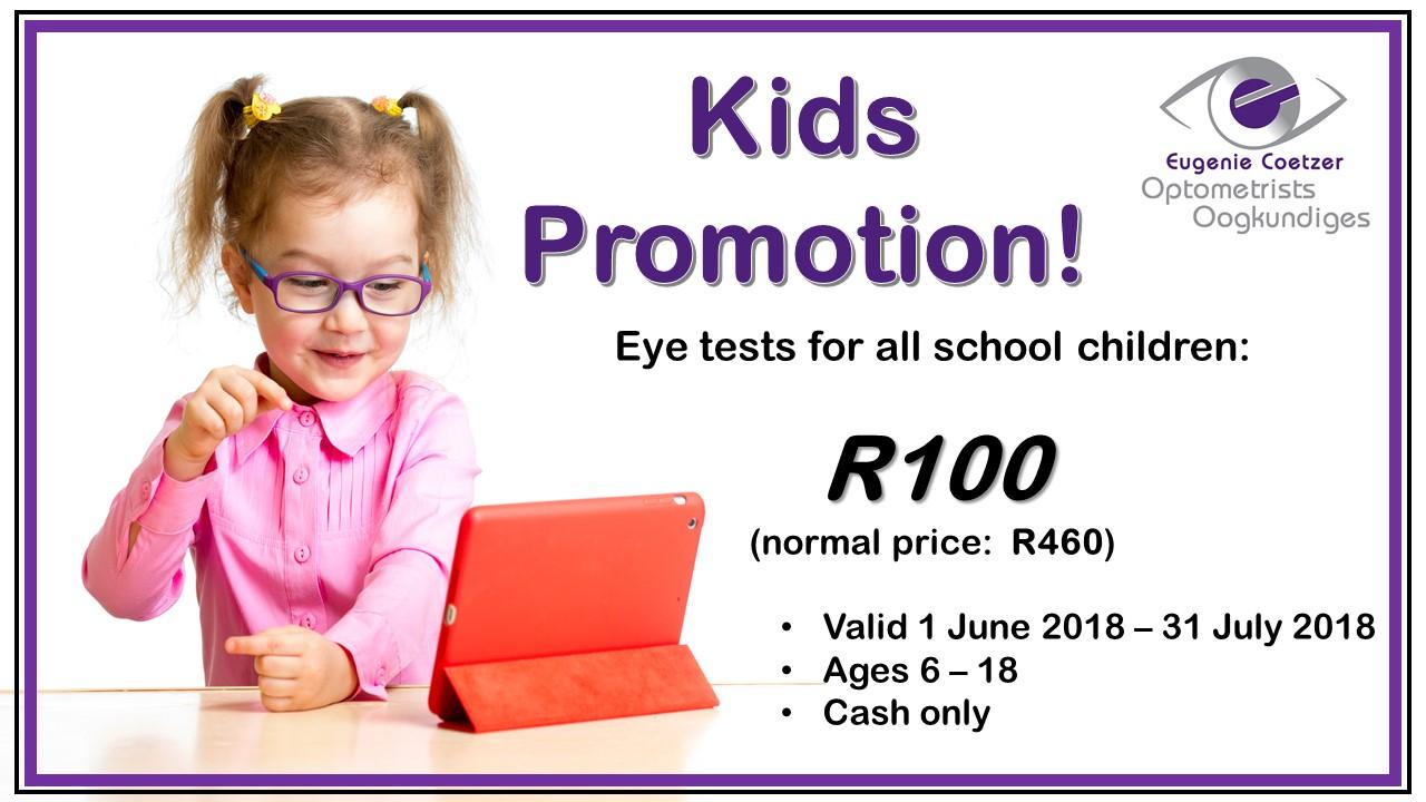 Kids promo website